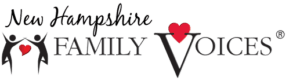 New Hampshire Family Voices Logo and site link